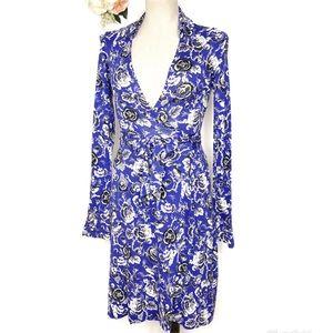 Diane Von Furstenberg Wrap Dress Women's Size 2
